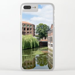 River Foss York Clear iPhone Case