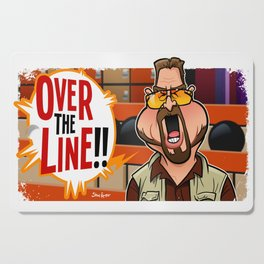 Over the Line Cutting Board