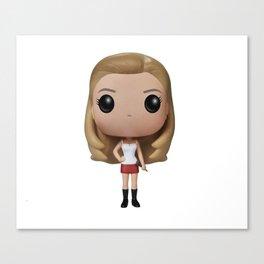 Buffy Toy Canvas Print