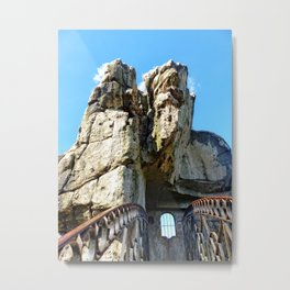 The Externsteine II, Teutoburg Forest Metal Print