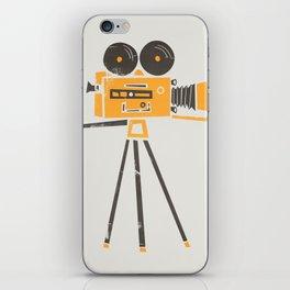 Cine Camera iPhone Skin