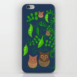 Gardening Owls iPhone Skin