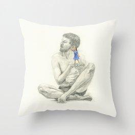 La deshumanización Throw Pillow