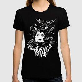 Maleficent Fan Art Angelina Jolie from Sleeping Beauty T-shirt