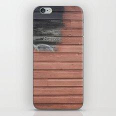 Red vs. Black iPhone & iPod Skin