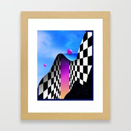 MELANCHOLYYY______UTOPIA Framed Art Print