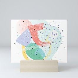 90's abstraction Mini Art Print