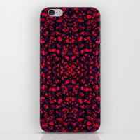 crystals iPhone & iPod Skins featuring Crystals  by Claudia Owen