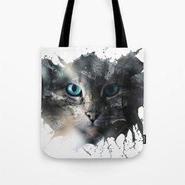 Cat Splash Tote Bag