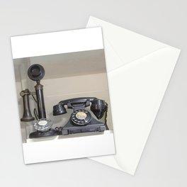 Vintage bakelite candlestick telephone Stationery Cards