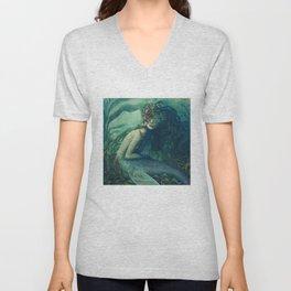 Mermaid Dwynwen Unisex V-Neck