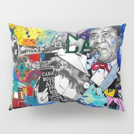 The Sound of New Orleans Pillow Sham