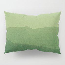 gradient landscape green Pillow Sham