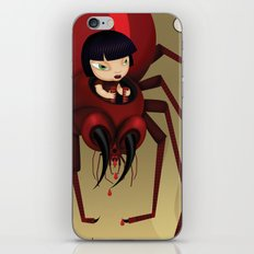 Travel by spider iPhone & iPod Skin