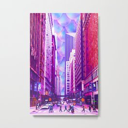Ebullience on a Summer Day Metal Print