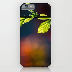 Leaves in a colorful world Slim Case iPhone 6s