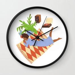 Music, Always Wall Clock
