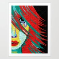 indie Art Prints featuring Mosaic Indie by Sartoris ART