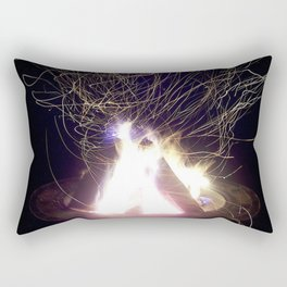 """Fire Photo 2"" Rectangular Pillow"