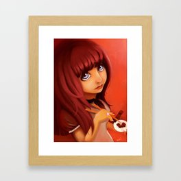 Chopstick Chic Framed Art Print