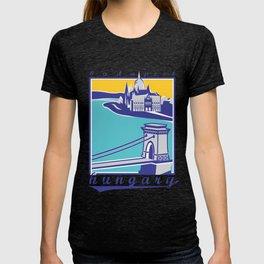 Széchenyi Chain Bridge - Budapest, Hungary T-shirt