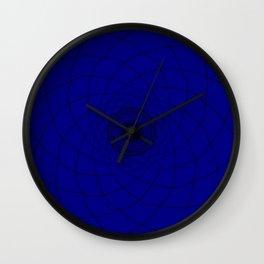 vortex of a trouble mind Wall Clock