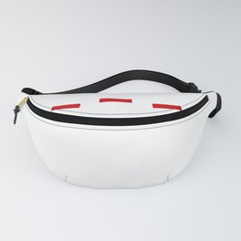 Bowler Oh Spare Me! Bowling Pins Fanny Pack