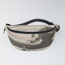 Old airplane 2 Fanny Pack