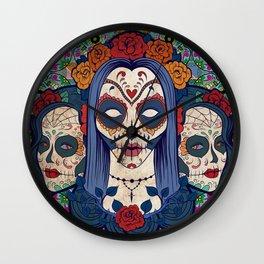 Muerto Ladies Wall Clock