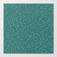 pip spot blue Canvas Print