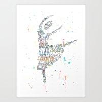The Vortex Dance Art Print