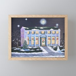 Christmas, Boulder Dam Hotel, Boulder City, Nevada, by Faye Framed Mini Art Print