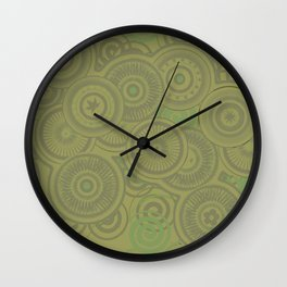 Forties Flair Wall Clock
