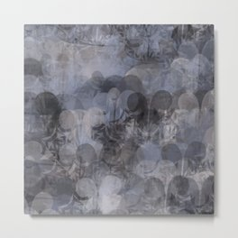 Puffy Spatter Metal Print