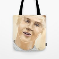niall Tote Bags featuring Niall by Sayrise