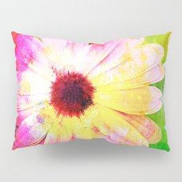 Making art with flower - original Pillow Sham