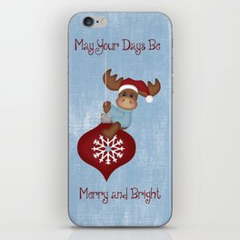 May Your Days Be Merry And Bright iPhone Skin