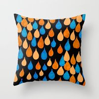 baloon Throw Pillows featuring Baloon 2 by kartalpaf
