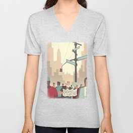 Day Trippers #2 - Lost Unisex V-Neck