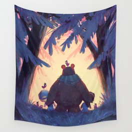 Tree Line Wall Tapestry