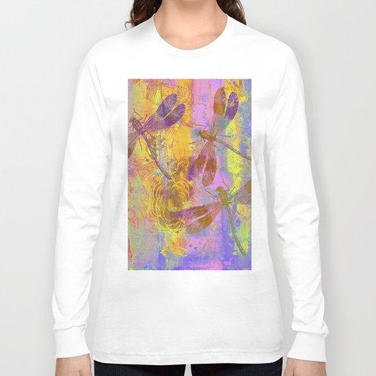 A Dragonflies QH Long Sleeve T-shirt