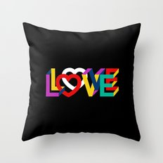 IN LOVE ANYTHING GOES ! Throw Pillow