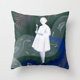 Barcelona Throw Pillow