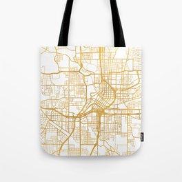 ATLANTA GEORGIA CITY STREET MAP ART Tote Bag