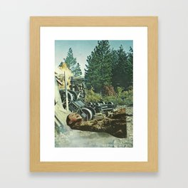 C R A S H  Framed Art Print