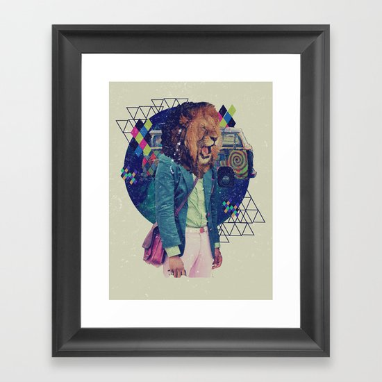 XV Framed Art Print