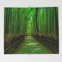 Bamboo Trail Throw Blanket