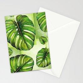 Monstera deliciosa I Stationery Cards