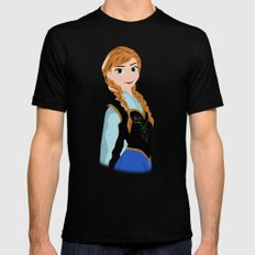 ANNA X-LARGE Mens Fitted Tee Black
