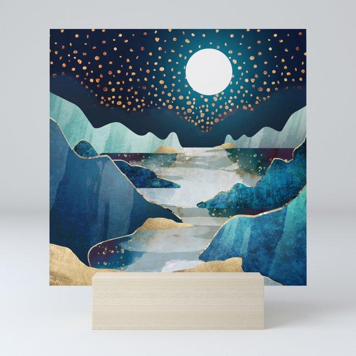 Moon Glow Mini Art Print